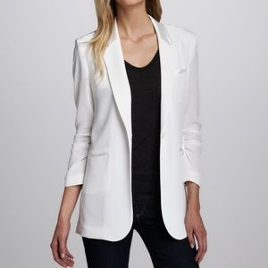 Elizabeth and James Heather Crepe Blazer Jacket